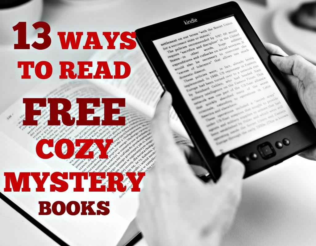 13 ways to read free cozy mystery books
